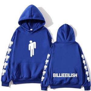 Mens Womens Billie Eilish Fashion Printed Hoodies Long Sleeve Hooded Sweatshirts Male Female Hot Sale Casual Trendy Streetwear Hoodies