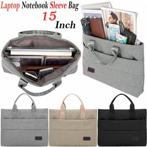 """Pour Macbook Air / Pro / Retina 11 """"13"""" 12 """"15"""" pouces Laptop Sleeve sac de transport Housse ordinateur portable sac à main"""