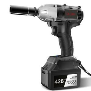 Schnurloses Elektroschlagschrauber Drill 380N / m Lithium-Ionen-Akku Brushless Elektrowerkzeug-Nuss High Torque Wrench