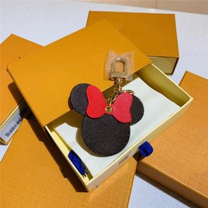 trousseau nouveau noeud support de la bague accessoires de mode vente chaude mignon de la bourse de sac de portefeuille des porte-clés de souris clé bouton pochette de clef