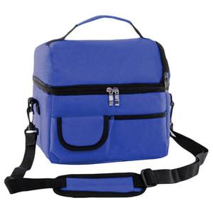 Oeak Thermal Lunch Bag Para Mujeres Niños Hombres Multifunción Picnic Cooler Box Bolsas de Asas Aisladas Contenedor de Almacenamiento C19041601