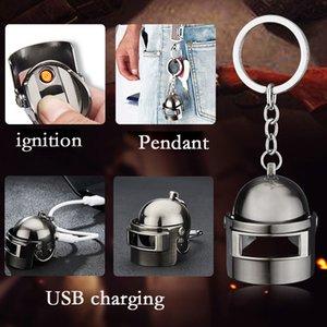 Jedi Live Chicken Helmet Mini cargador con llave USB y herramienta para tabaco