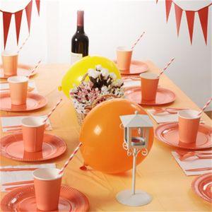 Kits de cubiertos para fiestas infantiles Papel desechable Banderín Cuchillo Cuchara Tenedor Para decoración de cumpleaños infantil 38 8ds E1