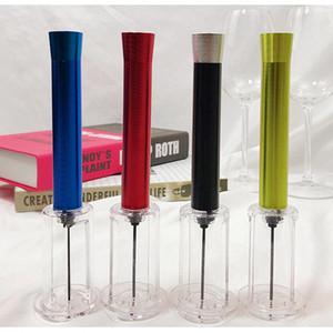 النبيذ الاحمر فتاحة الهواء الضغط كورك بوبر زجاجة مضخة المفتاح كورك خارج أداة مطبخ تناول الطعام بار فتاحة LJJZ500