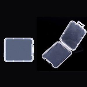 Shatter-Behälter-Kasten-Schutz-Fall-Karte Container-Speicherkarte Boxen CF-Karte Werkzeug Kunststoff Transparent Lagerung leicht zu tragen