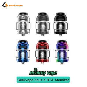 100 ٪ الأصلي Geekvape Zeus X RTA البخاخة 6 ألوان الأعلى تدفق 4.5ML سعة 810 نصيحة بالتنقيط