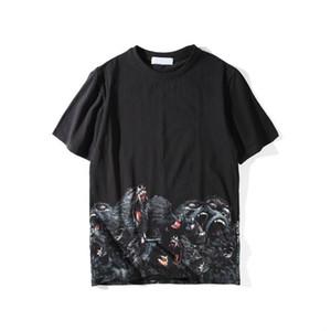 Lüks Erkek T Shirt Giyim 3D Orangutanlar Yaz T Gömlek tişört Hip Hop Erkekler Kadınlar Kısa Kollu Pamuk Tees Tshirts Boyut S-XXL
