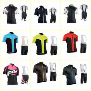 Nw Team Cycling Short Sleeves Jersey Bib Shorts Sets 2020 Clothing Breathable Outdoor Mountain Bike