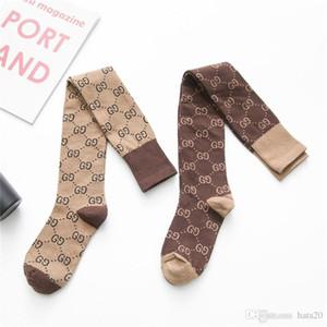 INS femmes Style Bas avec Lettre Imprimer Mode Femmes Chaussettes Automne Hiver ennemi personnalité chaussettes de coton