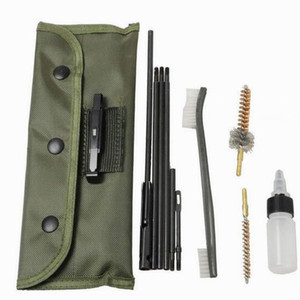 10 piece rifle cleaning kit For the .22LR 223, .257, etc Anything that is .20-.25 caliber can be cleaned with this kit.