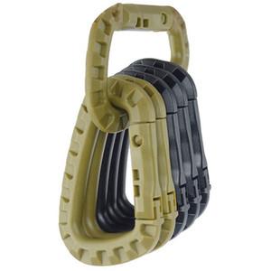 Hochwertige Karabiner Klettern Haken Clip Haken Rucksack Molle System D Buckle taktische Außentasche Camping Kletterzubehör