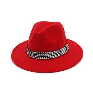 Мода-зима Hat Bucket женщин Bowler Джаз шлемов Fedora тесемки Украшенная Flat Брим Panama Trilby Derby Gambler Titfer