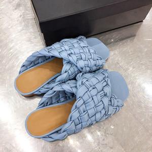 sandales femmes de luxe de la mode Designer meilleur flip flops design de qualité femmes pantoufle plat bretelles entrecroisées CONSEIL SANDALES PLATES