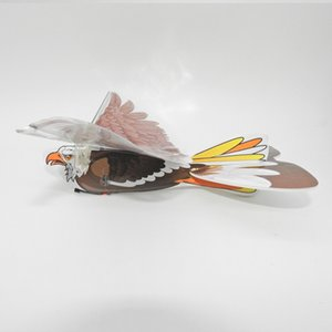 Remote-controlled Flying Birds Model Flapping Wing Flight Pigeon Sensing Eagle Kite Electric Eagle Aircraft Model Toy