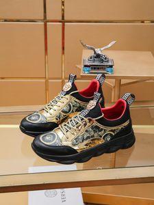 2019i été nouveaux plus grands créateurs-haut de gamme à lacets hommes en cuir de la marque casual chaussures mode, chaussures de sport polyvalent, confortable yards: 38-44