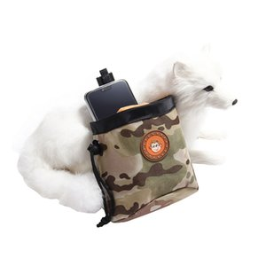 Snack Small Dog Pet cintura Pouch Dog Lanche Treat Bag