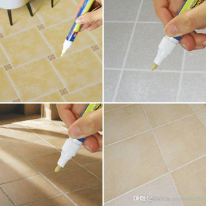 20pcs Grout Aide Repair Tile Marker Wall Pen With Retail Box TV Tile Repair Pen Fill The Wall Practical Repair Tools Home Supplies