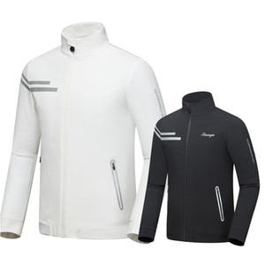 2019 Spring Autumn Men Golf Jackets Coat Waterproof Slim Fit Jacket For Men Male Windproof Sport Golf Sportwear D0656