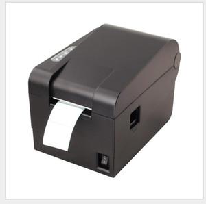 Código de etiqueta impressora de código de barras auto-adesivo de roupas de chá de leite tag máquina térmica bilhete
