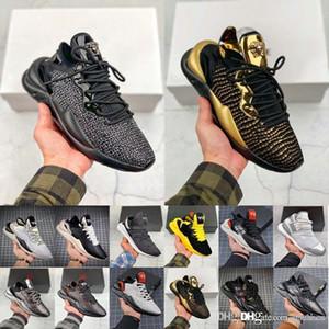 TOP Tasarımcı Y3 Erkekler Ayakkabı Kaiwa Chunky Sneakers Kanye Erkek Kadın Günlük Spor Açık lüks Y3 Kusari II Leathe Çizme Sneakers