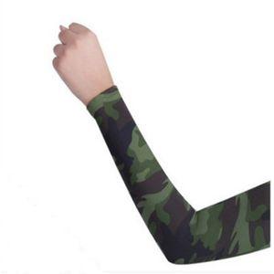 Les hommes et les femmes Protection UV bras cyclisme manches sports de plein air compression élastique élite manches Sunscreen brassard Arm Livraison gratuite Manches