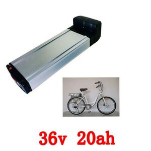 Livraison gratuite US EU No Tax batterie de vélo électrique 36 v 20ah 1000 w rack arrière batterie au lithium ion