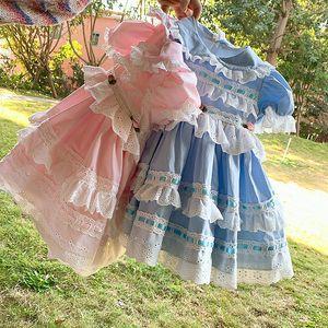 New Verão roupa da menina Crianças elegante vestido de manga curta Pet Pan Collar Lace Flowers Designs Princesa Exquisite Vestidos