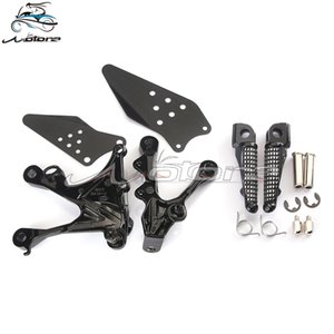 Front footpegs Foot pegs Footrest Pedals Bracket For ZX6R ZX-6R 2005-2008 05 06 07 08 ZX636 2005-2006 05 06 Motorcycle