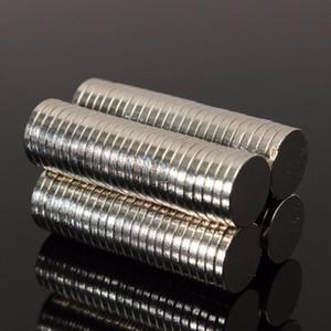 200 stücke 10mm x 1mm Magnetische Materialien Neodym-magnet Mini Kleine Runde Disc Magnet Hauptdekorationen kühlschrank
