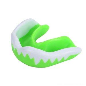 Boca aptitud Suministros Gum Ambiental EVA Deportes Safety Shield Protector bucal de dientes boca boxeo aptitud Suministros Ambiental EVA Deportes Gu