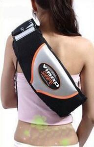 Venta al por mayor forma vibro cinturón adelgazante Fat Burner Vibración eléctrica de la cintura masajeador gimnasio adelgazante Sauna cinturón vibrante Shake Masaje