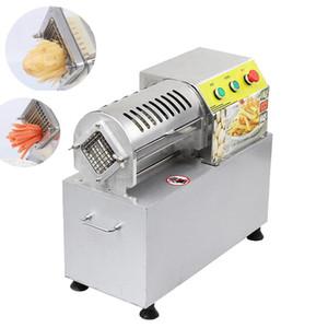Коммерческий Fries Режущего машина нарезка машин Dicing машина Картофель Овощи Редис Огурец Картофель Фрукты Shredder 900W