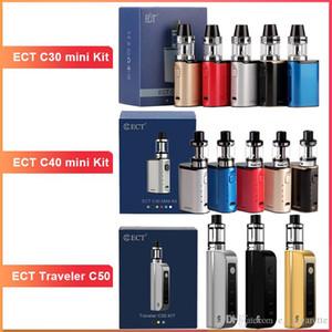 ECT C30 mini starter kit e cigarette box mod vape mod met atomizer 2.0 ml vaporizer 1200mah electronic cigarette