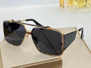 Neue Design-Sonnenbrille im Freien eyewear Quadrat Halbrahmen UV-Schutz 400 Objektiv SOULINER Serie Stil Sonnenbrille Männer 136