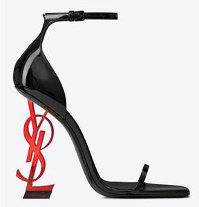 Frauen sommer high heel sandalen klassische mode marke sexy cool original abnormität super puttee ferse nachtclub leder fest tanz sandalen