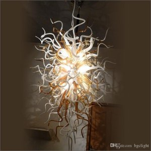 Üstün Kalite İtalyan Big Parti Noel Işıklar Modern Otel Deco El Üflemeli Murano Cam Tavan Designer Işıklar