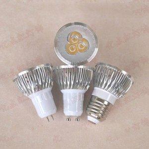 Fonte de luz de alumínio 3W 5W dos projectores de Downlight do copo da lâmpada da prata GU5.3 do diodo emissor de luz de MR16 220V