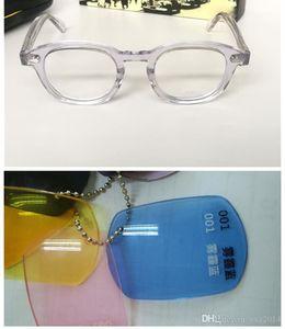 NOUVELLES lunettes de soleil multicolores transparentes UV400 protection L M S tailles lunettes à lame pure étui unisexe ensemble complet étui OEM outlet