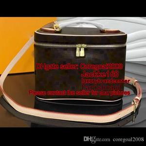 Женские маленькие хорошие BB путешествия косметическая коробка M42265 M47280 чехол сумка сумка для макияжа кошелек перекрестный корпус сумочка роскошный M41114 N60024 N47516 M41348 24см