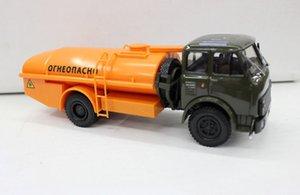Stock Overstock 1: 43 Alloy Car Model Maz AC 8 Russia Kamaz Oil Jar Freight Truck Model