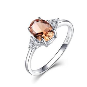 Мода Zultanite Драгоценное кольцо для женщин Твердого 925 Sterling Silver Color Change Ring для ювелирных изделий венчания Engagement