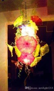 Italia Nuovo disegno 100% fatto a mano Soffiato Murano Glass Art lampadario luce con vetri per casa Hotel Lobby Decor