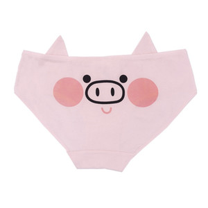 Intimo donna con maiale Ragazza soldato Lovely Cartoon Cotton Girls Biancheria intima Mutandine da donna Fresh low-waist Underwear confortevole