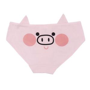 Femmes sous-vêtements avec Pig Girl Soldier Lovely Cartoon Cotton Girls Underwear Sous-vêtements pour dames Sous-vêtements frais taille basse Souffle confortable