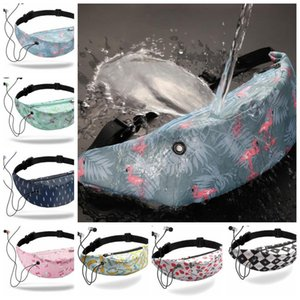 3D Printed Waist Bag Outdoor Waterproof Fanny Pack Unisex Women Girls Belt Chest Bags Waist Pack KKA6573