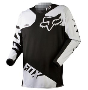 FOX cycling speed down suit summer mountain off-road motorcycle clothing custom bicycle cycling clothing long-sleeved top hot polyester quic