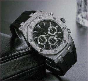 أفضل العلامات التجارية الكبيرة الحجم ووتش رجال فاخر مصمم التلقائي تاريخ تقويم ساعة اليد الذهب