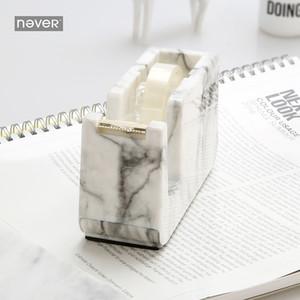 Nunca mármol Edición Masking Tape cortador de cinta adhesiva Dispensador de cinta Dispensador de accesorios de oficina cortador Papel Papel SH190926