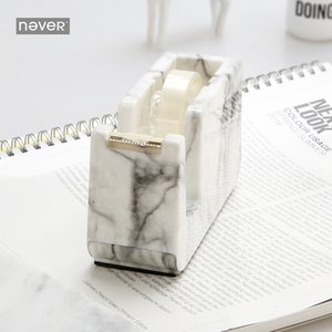 Jamais Edition Marble Masking Tape Cutter Ruban adhésif Distributeur bureau Tape Dispenser Cutter Accessoires Papeterie SH190926