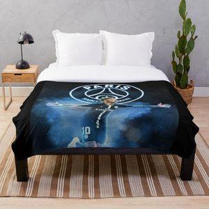Art Neymar wallpaper Throw Blanket Soft Sherpa Blanket Bed Sheet Single Knee Office Nap